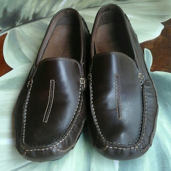 171e9d8540c6b CLARKS ENGLAND LEATHER MEN LOAFERS SIZE 12 M